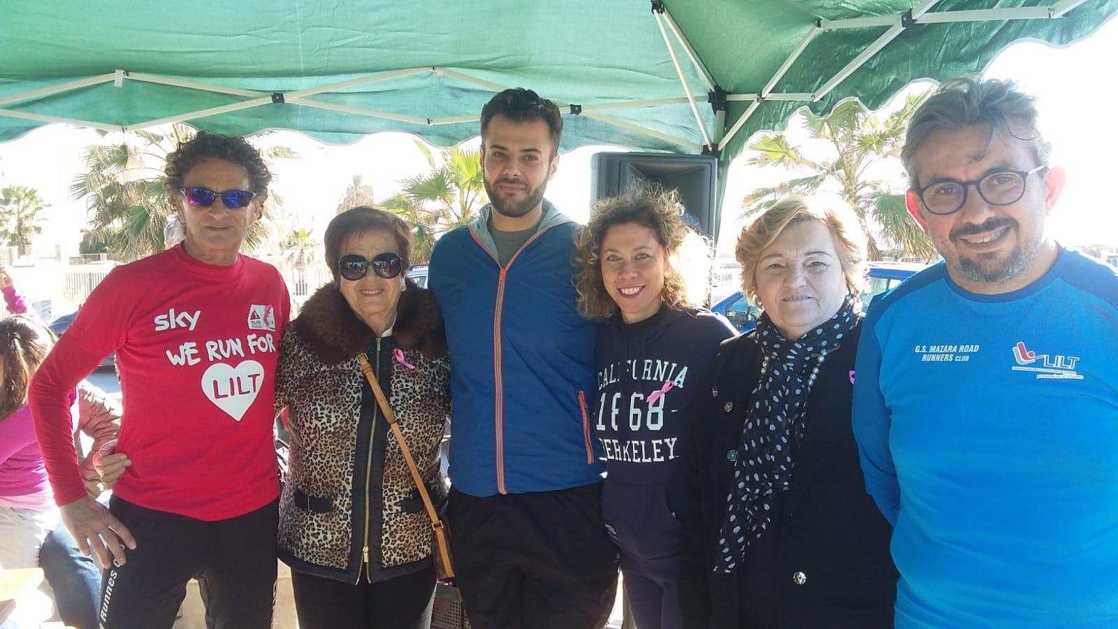 Mazara. Impegno dell'atleta Pino Pomilia e la dott.ssa Claudia Passalacqua per la nascita del CENTRO DI PREVENZIONE ONCOLOGICA