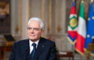 MESSAGGIO DI FINE ANNO DEL PRESIDENTE DELLA REPUBBLICA MATTARELLA