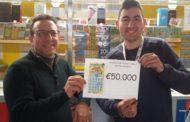 Mazara. Vinti 50 mila euro con il Gratta e Vinci