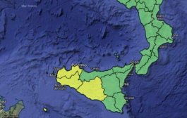 Il maltempo torna in Sicilia: lunedì allerta gialla in provincia di Palermo, Agrigento, Trapani e Caltanissetta