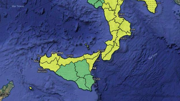 MALTEMPO, FREDDO E PIOGGIA IN SICILIA: DOMANI NUOVA ALLERTA METEO