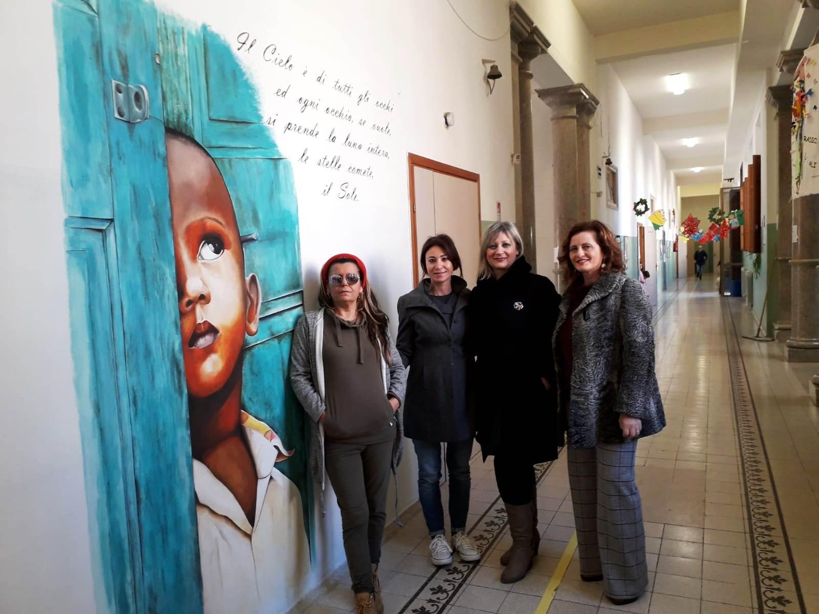 Mazara. Concluso il progetto murales nelle scuole di competenza comunale