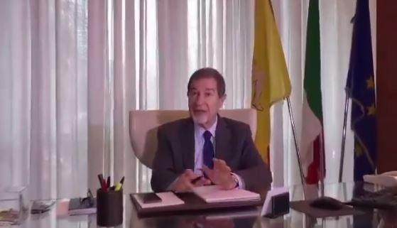 Il messaggio di fine anno del presidente Musumeci