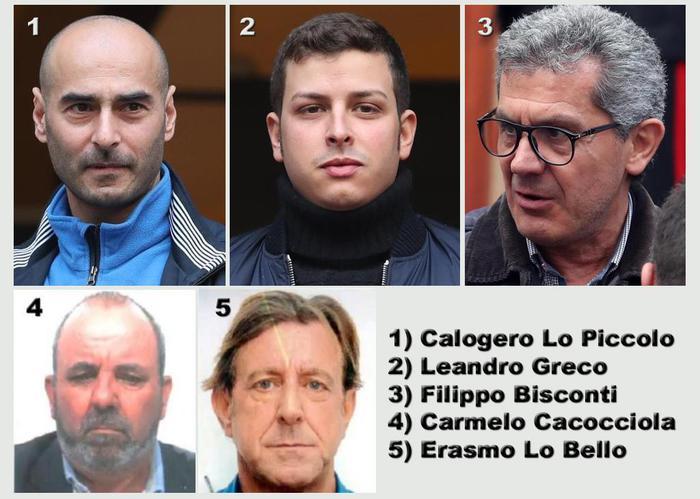 Mafia: inchiesta sulla Cupola, tra i fermati anche il nipote di Greco e il figlio di Lo Piccolo
