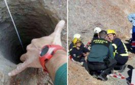 Bimbo caduto nel pozzo, si scava un tunnel per salvarlo