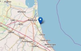 Terremoto di magnitudo 4.6 tra Ravenna e Cervia, avvertito anche in Veneto