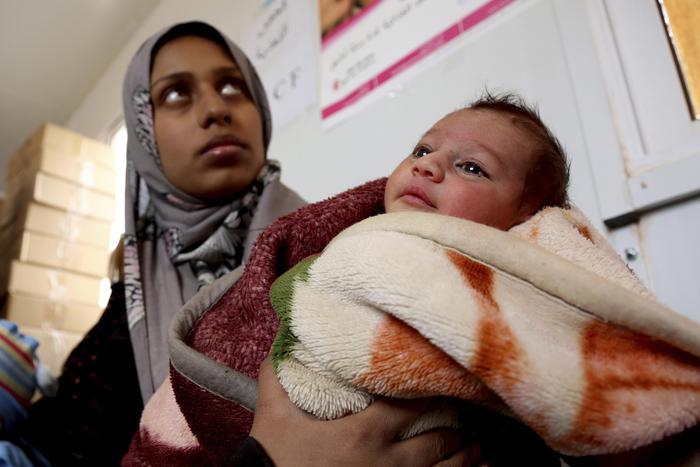 Siria, 15 bimbi morti di freddo