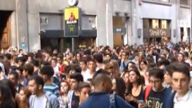 Manifestazione nazionale di studenti per la nuova modalità d'esame di maturità. Cortei a Mazara e Trapani