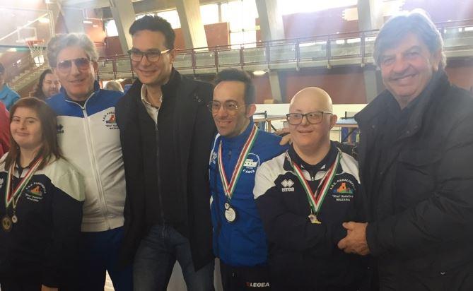 Mazara: Spettacolare giornata di tennis da tavolo per disabili
