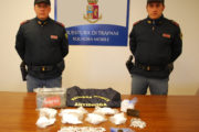 Trapani: arrestato dalla Polizia di Stato con 2 kg di cocaina