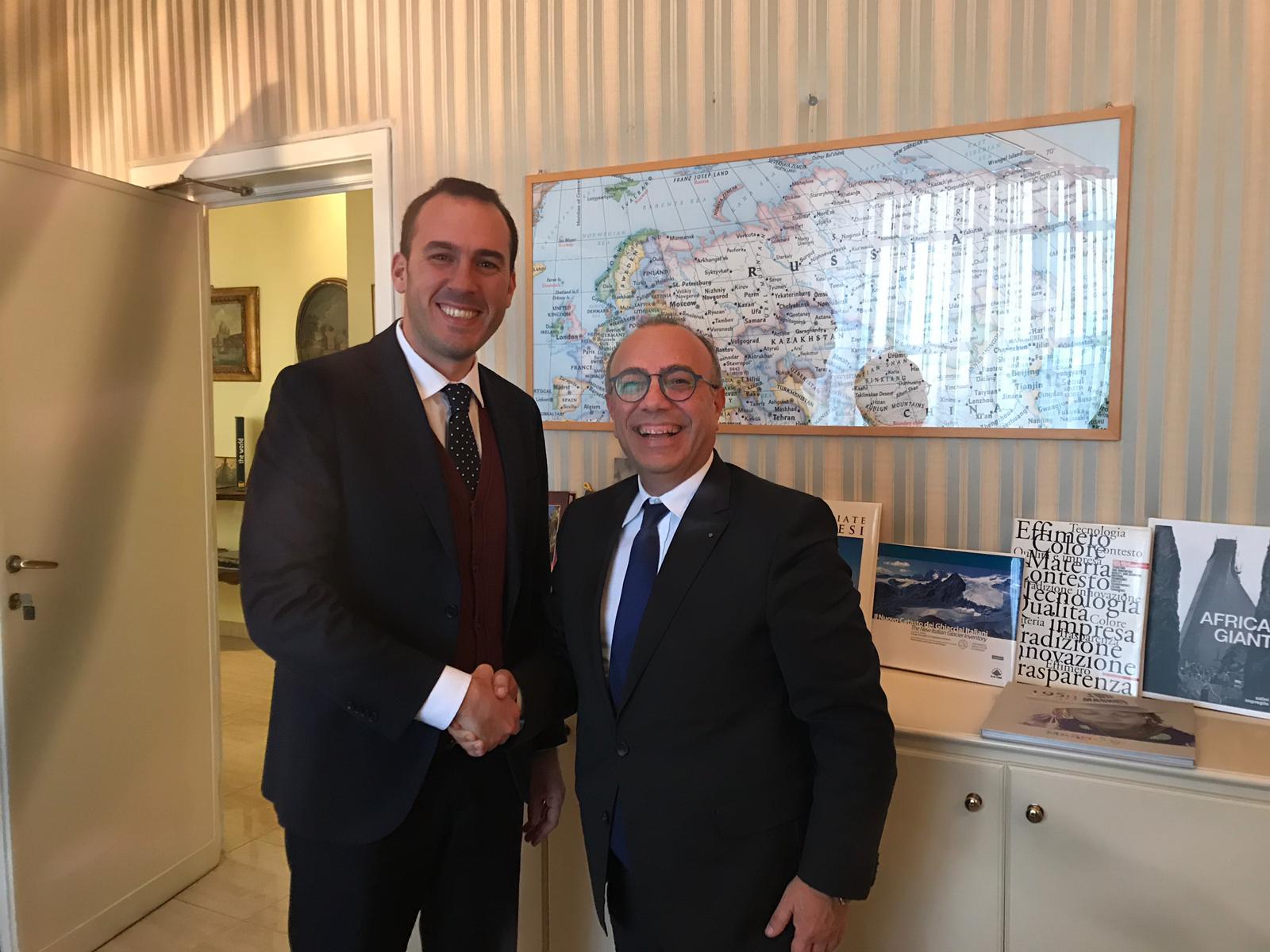 Mazara: Distretto Pesca, proficuo incontro con il Sottosegretario agli Esteri Manlio Di Stefano