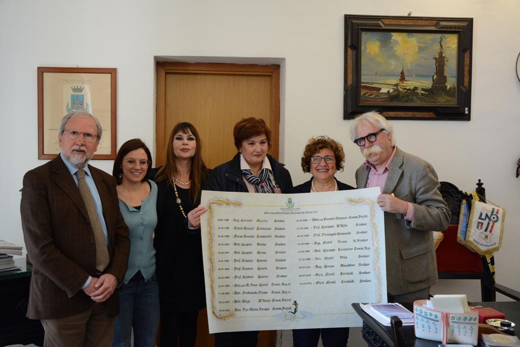 Mazara: Realizzata la nuova pergamena dei sindaci