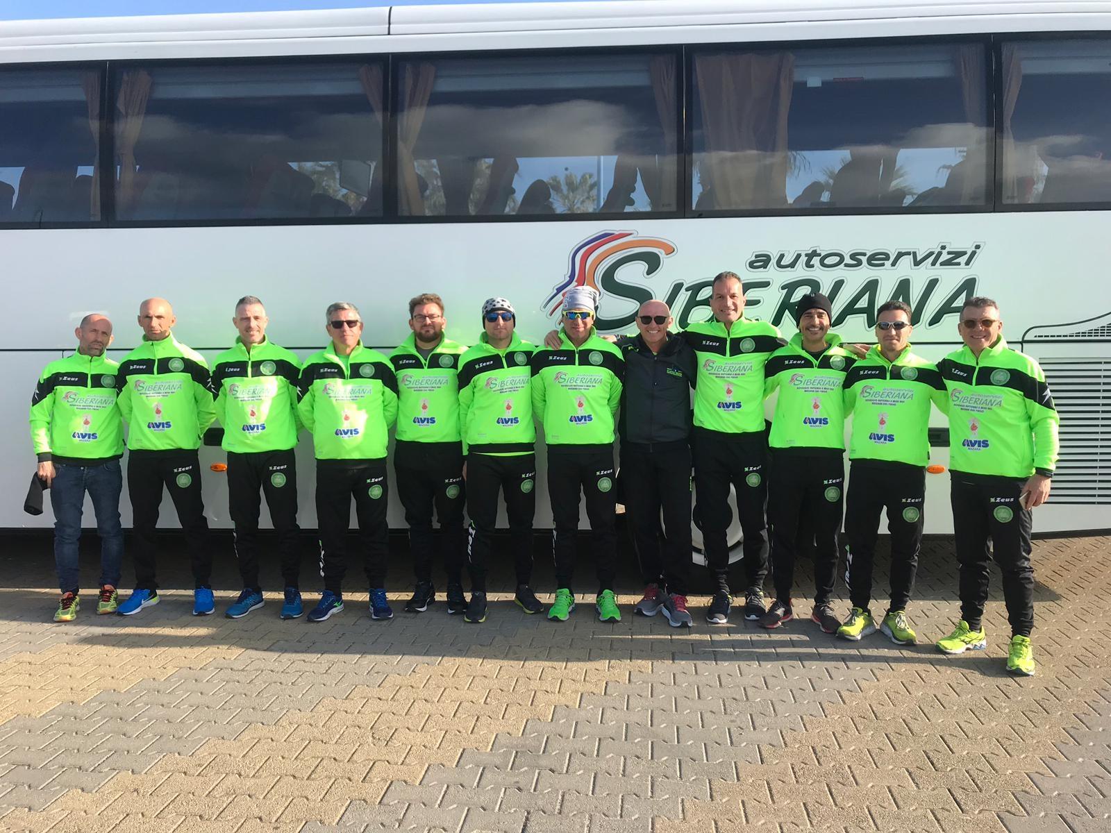 Mazara: Il team Francesco Ingargiola alla 16° Mezza Maratona di Agrigento
