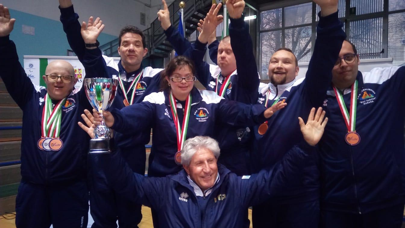 """Mazara: Grandioso risultato ai Campionati di tennis tavolo dell'ASD Paralimpica """"Mimì Rodolico"""""""