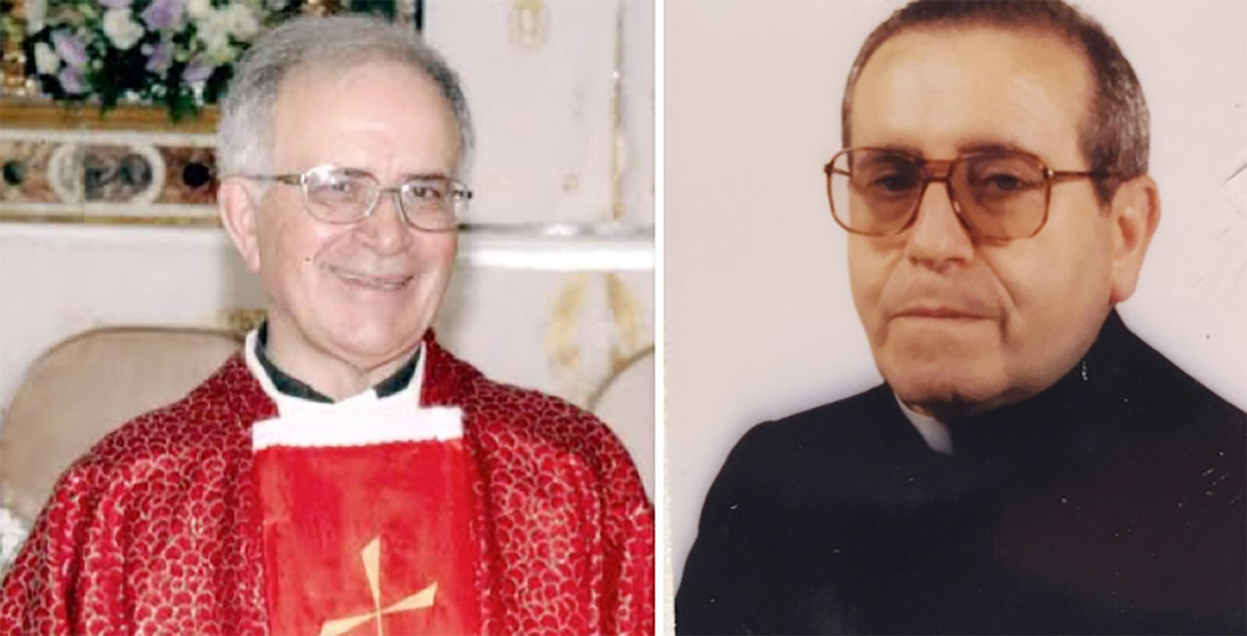 Mazara, Anniversario di ordinazione di due sacerdoti: 60 di presbitero per don Calandrino, 50 per padre Fullone
