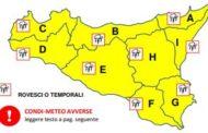 Maltempo, allerta gialla su tutta la Sicilia per oggi