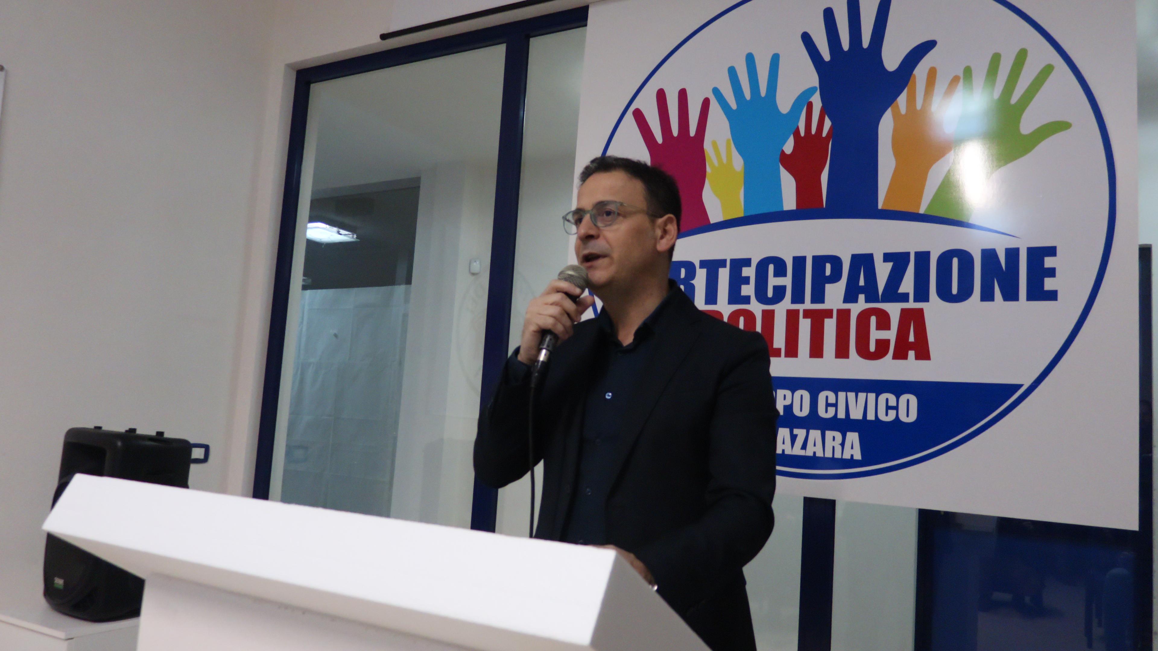 INFORMAZIONE ELETTORALE: Salvatore Quinci presenta i candidati delle liste e i primi 3 Assessori designati in giunta