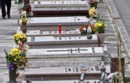 Servizio fotografico hard al cimitero: denunciati due uomini e una donna