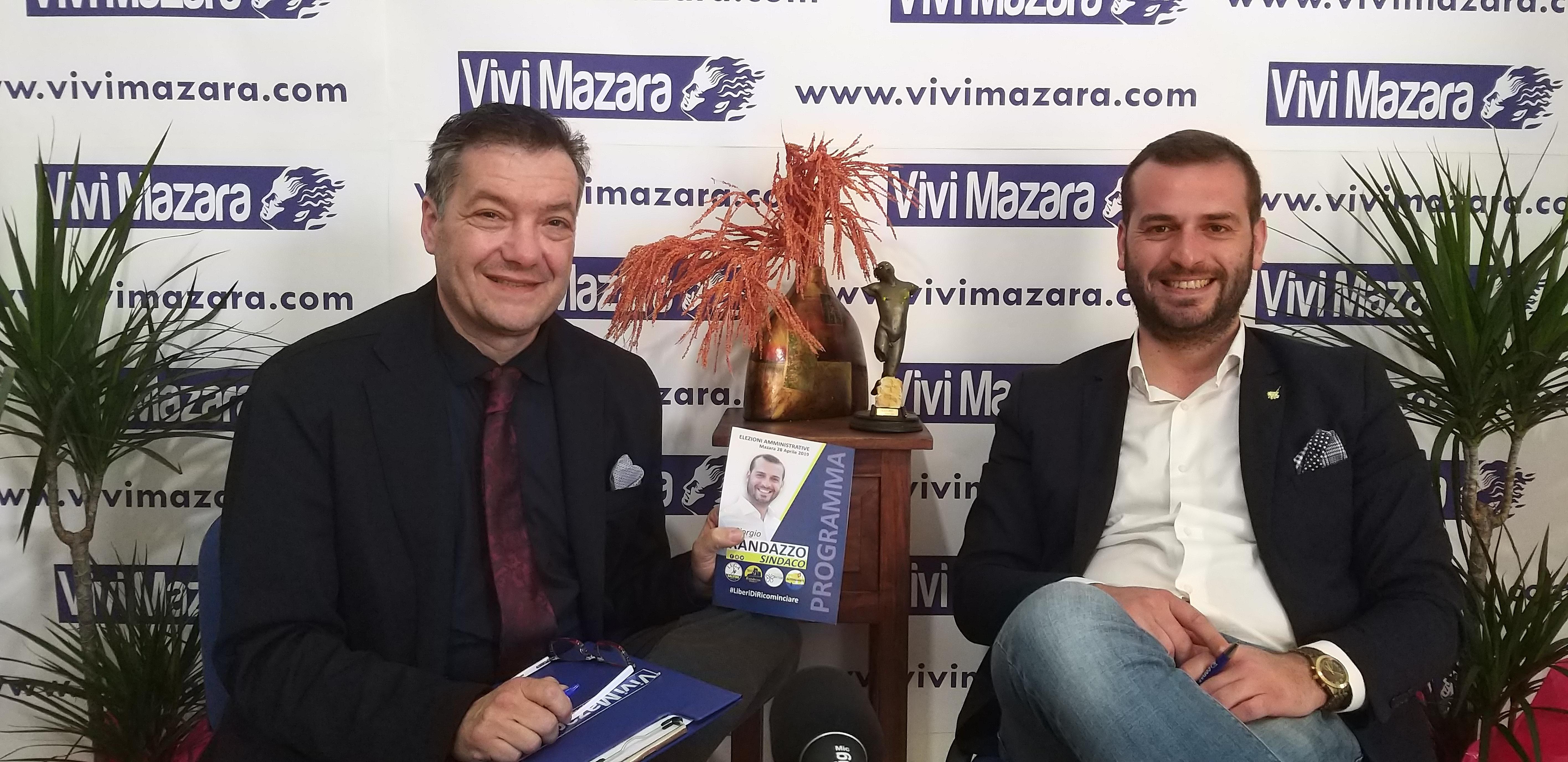 Mazara. INFORMAZIONE ELETTORALE: INTERVISTA CON IL CANDIDATO SINDACO GIORGIO RANDAZZO