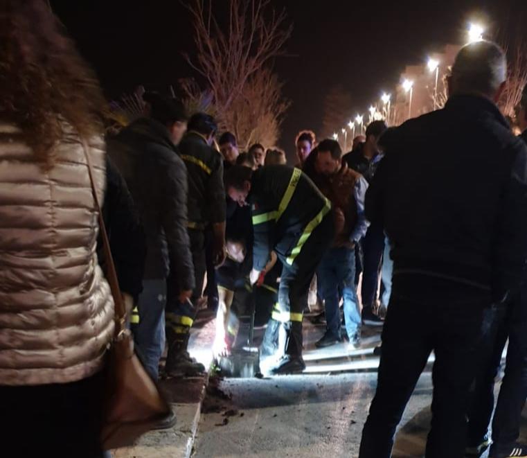 Mazara: Nella notte i vigili del fuoco salvano una madre con i suoi 7 cuccioli intrappolati