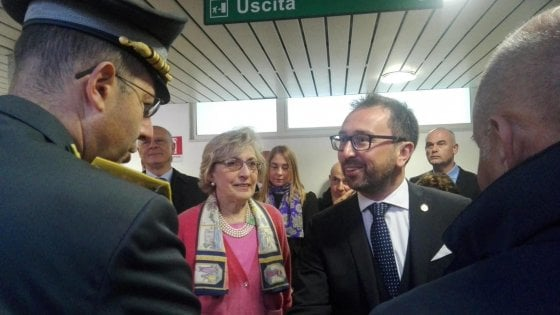 Sicilia, il ministro Bonafede: