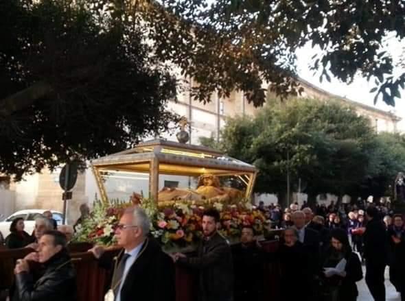 Mazara: Oggi, venerdì 19 aprile alle ore 18 la processione del Venerdì Santo
