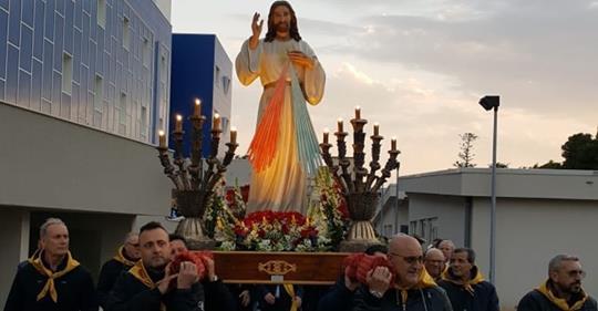 CAPPELLA OSPEDALE MAZARA: DAL 24 AL 28 APRILE I FESTEGGIAMENTI IN ONORE DI GESÚ MISERICORDIOSO