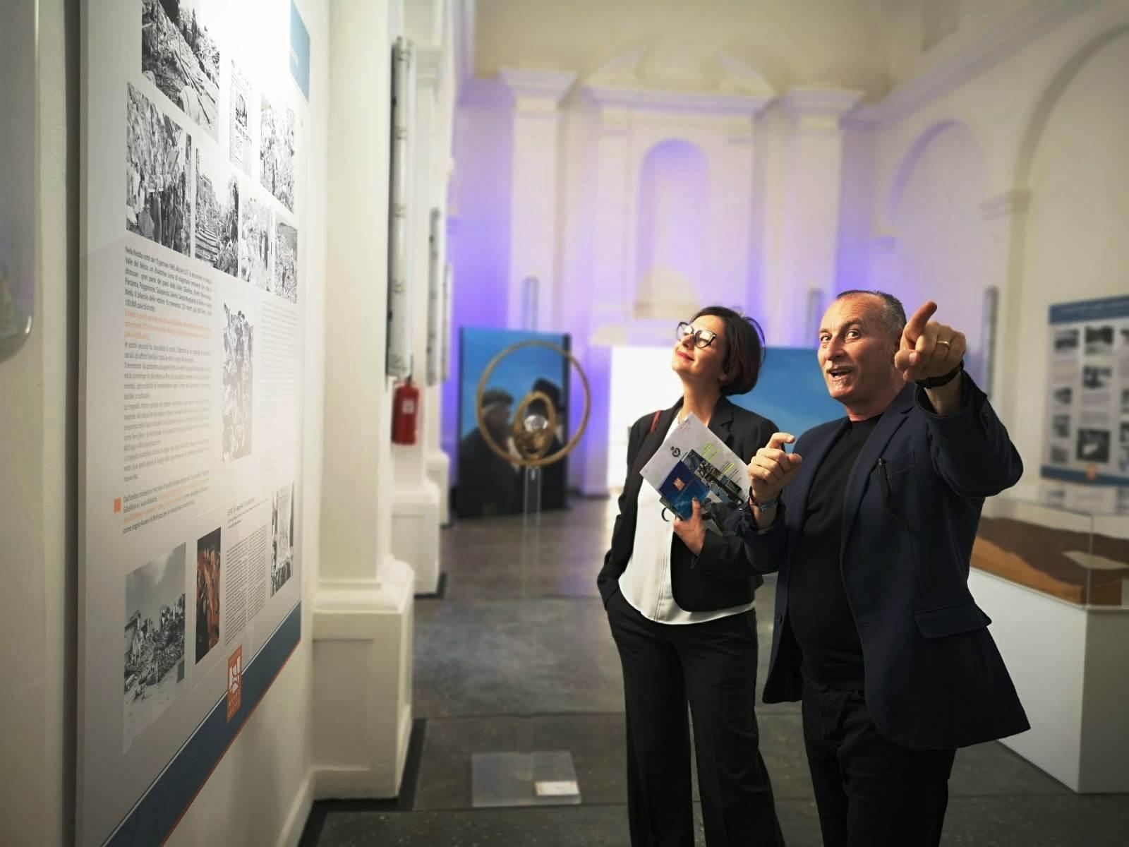 La città di Mazara partecipa alla inaugurazione del Museo del Cretto a Gibellina