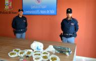 Mazara. Operazione antidroga con sequestro in appartamento di 1 kg di marijuana a carico di un mazarese già sottoposto agli arresti domiciliari