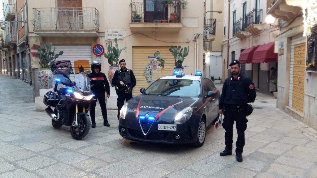 Mazara. Un arresto per evasione, un denunciato per spaccio e contravvenzioni al codice della strada per 15.000 euro