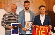 Mazara. Il plauso del Sindaco al calciatore Antonio Marino