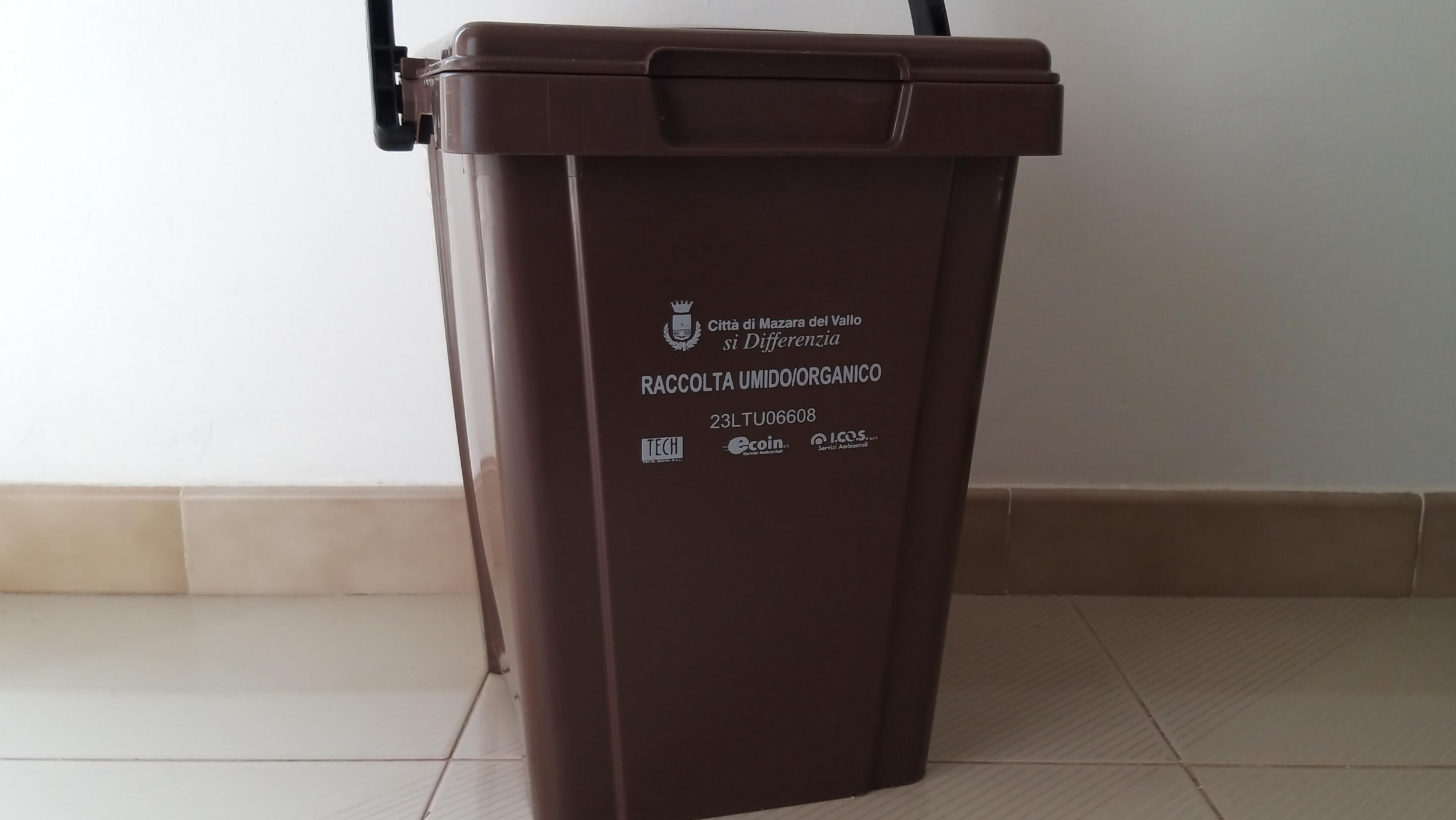 Mazara. Anche per lunedì 13 maggio la raccolta dell'umido organico è sospesa