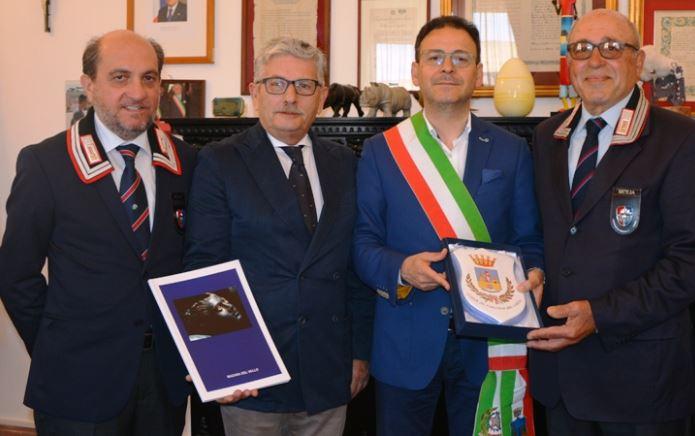 Mazara. Incontro tra il Sindaco Quinci e l'associazione nazionale carabinieri