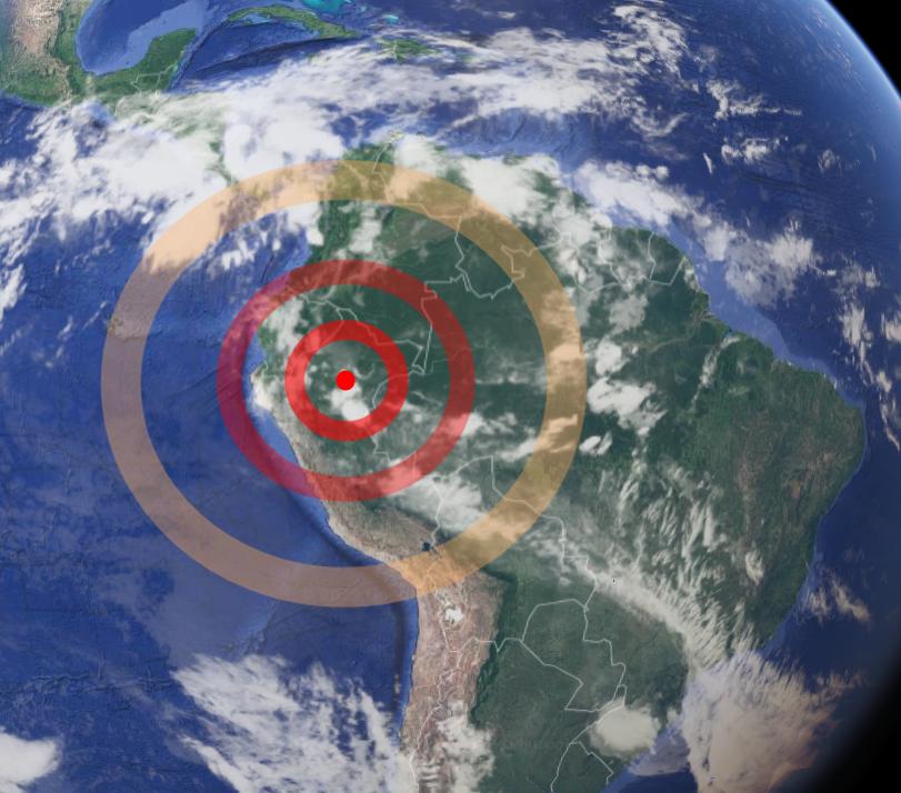Perù: potente scossa di terremoto di magnitudo 8.2, avvertita anche in Brasile