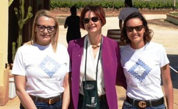 """Mazara. L'assessore comunale al Turismo Germana Abbagnato ha partecipato ieri all'iniziativa """"Cantine Aperte"""""""