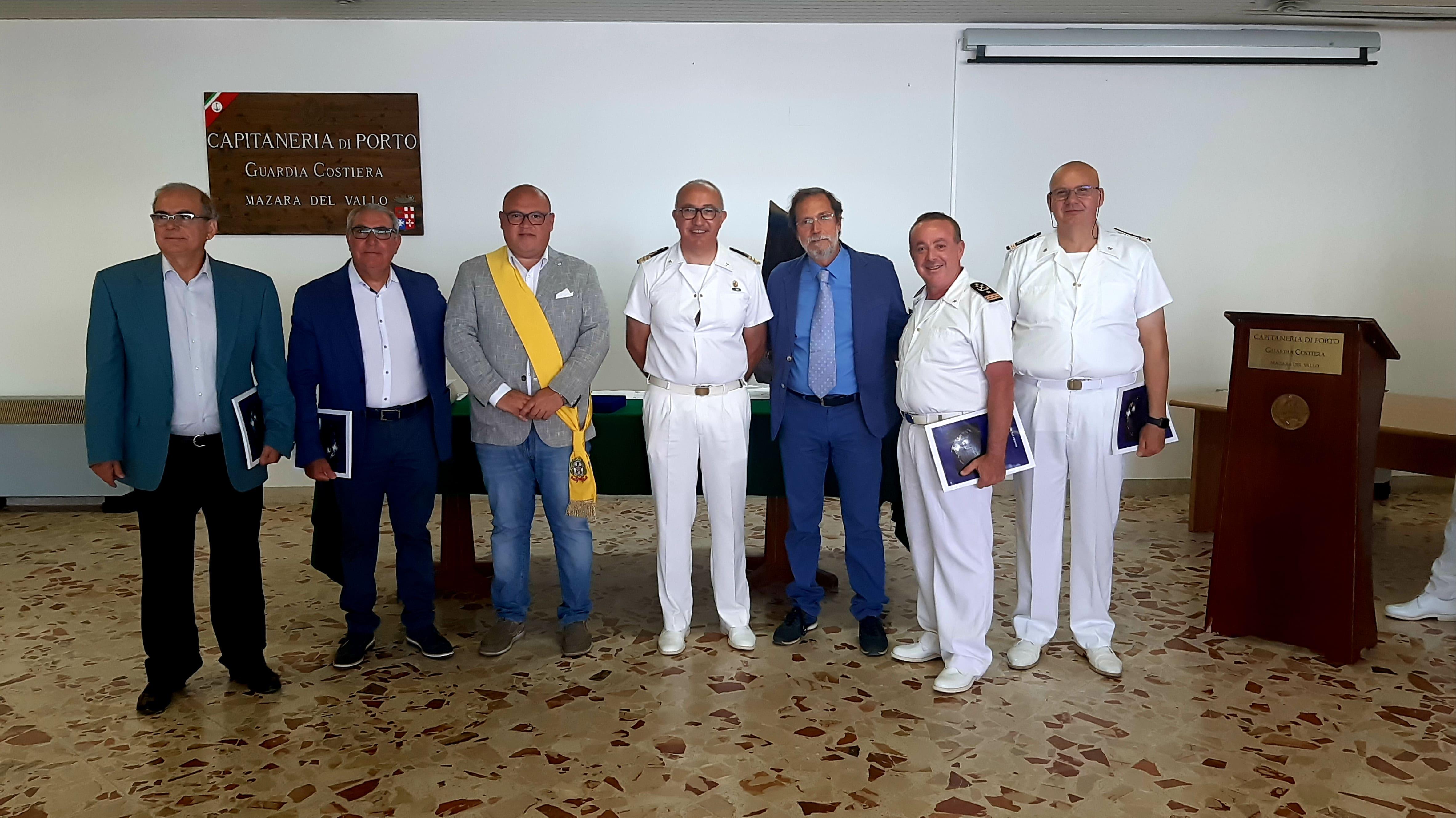 Mazara. Celebrata presso la Capitaneria di Porto la Giornata della Marina Militare