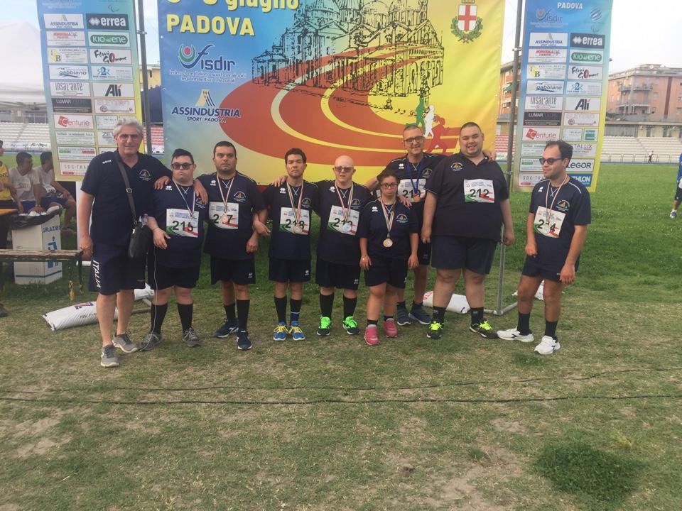 Brillante prestazione dei ragazzi mazaresi dell'ASD Paralimpica Mimì Rodolico ai campionati italiani promozionali di atletica leggera a Padova
