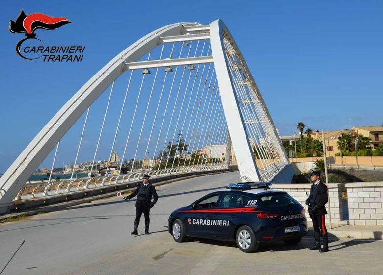 Mazara. Controllo del territorio, i carabinieri arrestano uno spacciatore mazarese