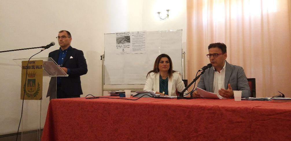 DAL COMUNE DI MAZARA LA CONFERENZA STAMPA DEL SINDACO QUINCI