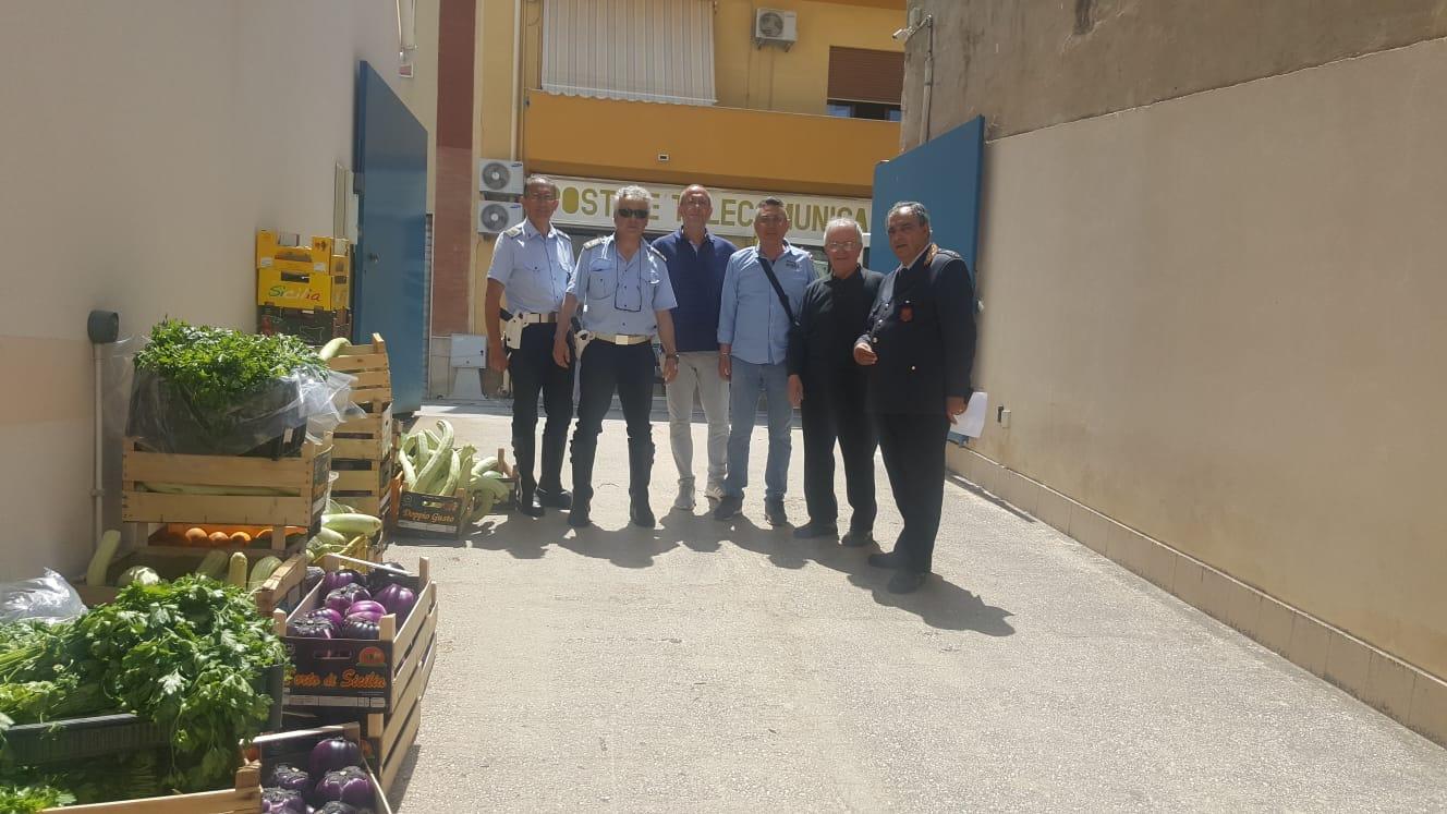 Mazara. Oltre 1000 kg di prodotto agro-alimentare sequestrato in piazzetta dello Scalo