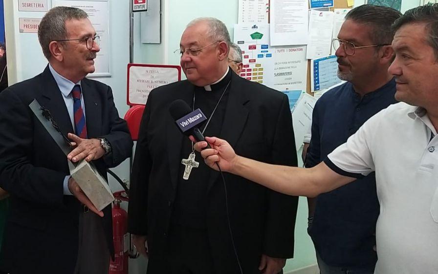 Al centro AVIS di Mazara la visita di Mons. Vito Rallo, nunzio apostolico in Marocco