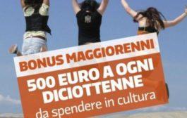 Bonus Cultura, ripristinati i 100 milioni di euro per i neodiciottenni
