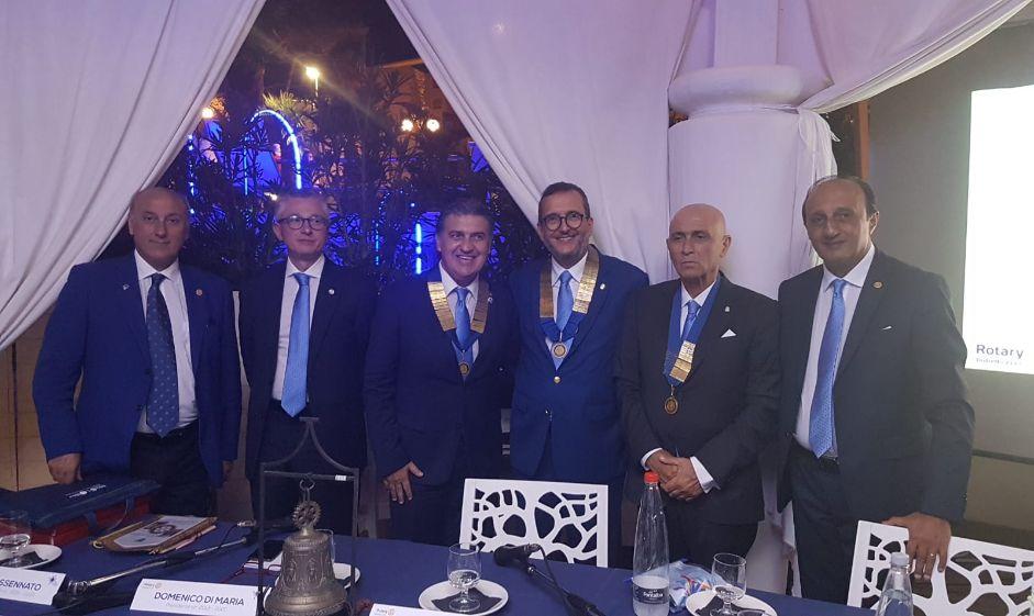 Mazara. Visita del Governatore Rotary Distretto 2110, dott. Valerio Cimino