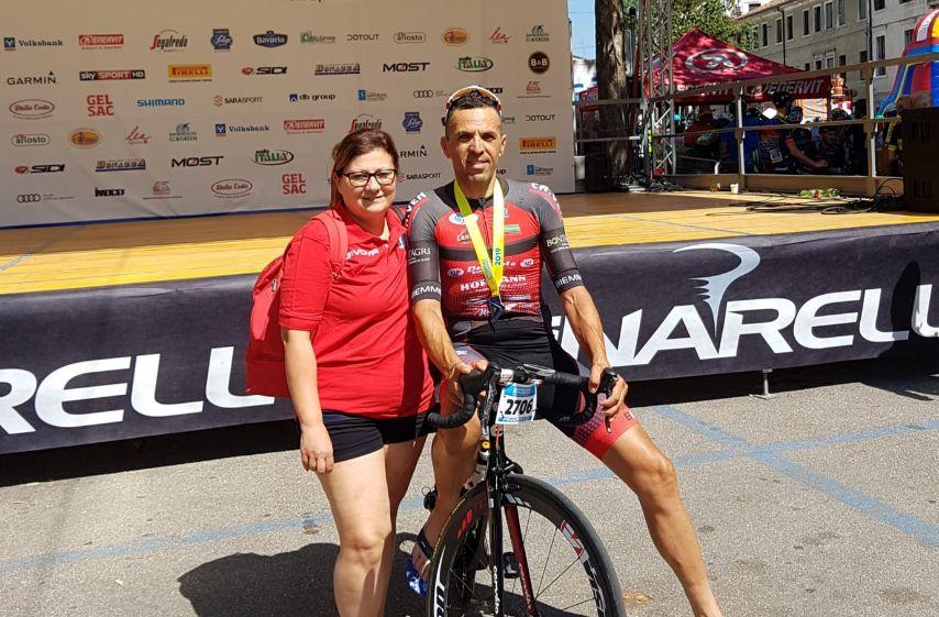 Ciclismo. Il mazarese Francesco Giacalone alla Granfondo Pinarello