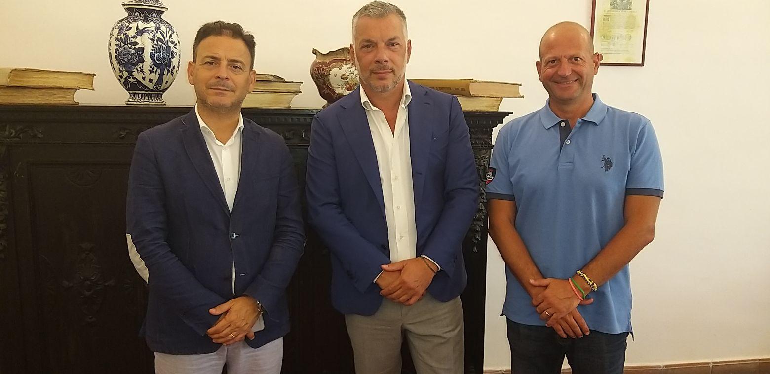Mazara calcio: Il presidente Franzone iscrive la squadra al prossimo campionato di eccellenza e incontra sindaco e assessore allo sport