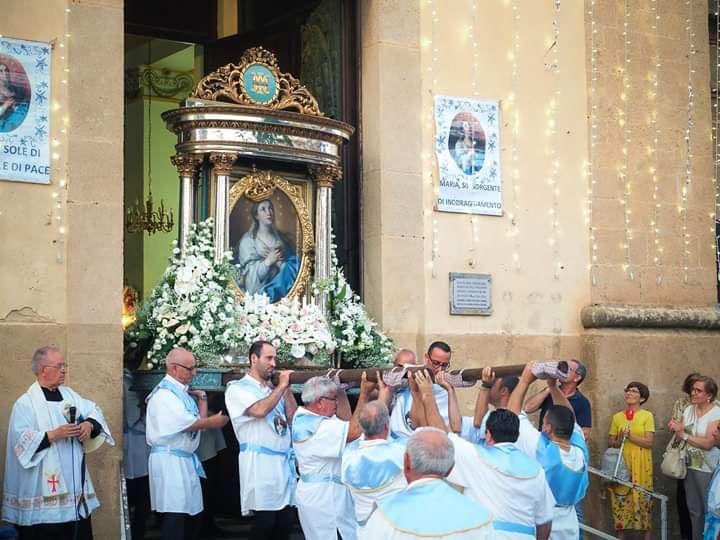 Mazara. CELEBRAZIONI MADONNA DEL PARADISO: DOMENICA LA FESTA DELL'INCORONAZIONE. Processione dalla Cattedrale a Cristo Re
