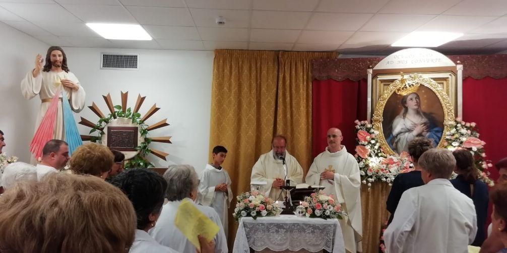 Cappella ospedale di Mazara: LA MADONNA DEL PARADISO VISITA GLI AMMALATI