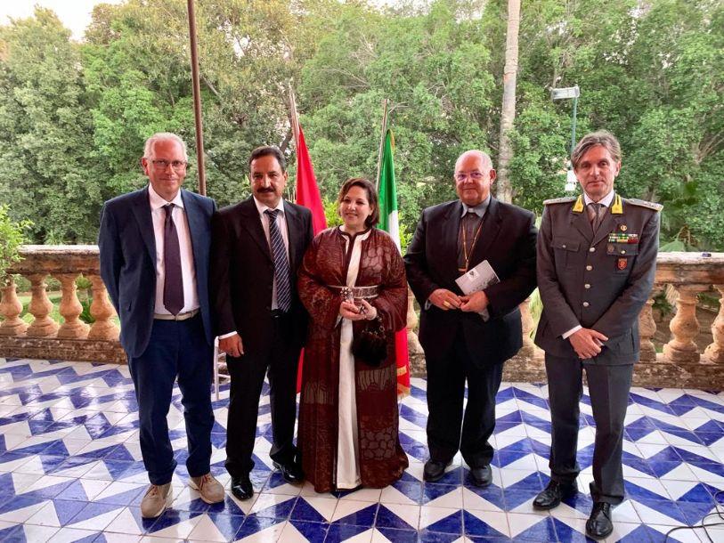 Mons. Vito Rallo al ventesimo anniversario dell'ascensione al trono di sua maestà Mohammed Sesto re del Marocco