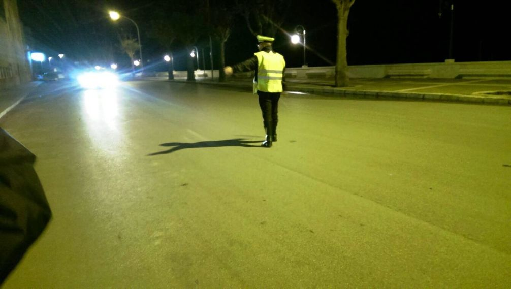 Mazara. Attività di controllo della polizia municipale