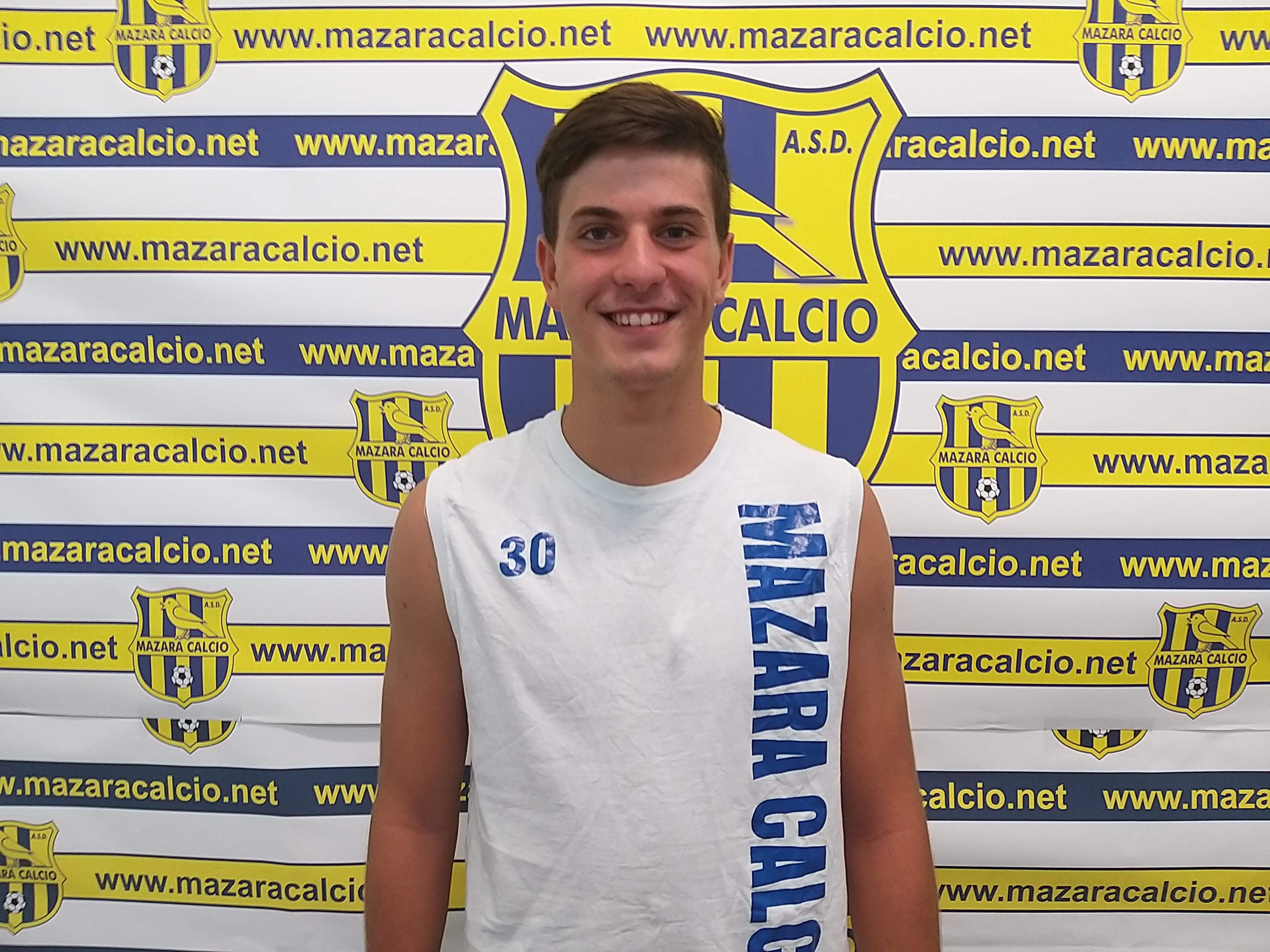 Mazara calcio: Tesserato il giovane difensore Aleandro Caradolfo